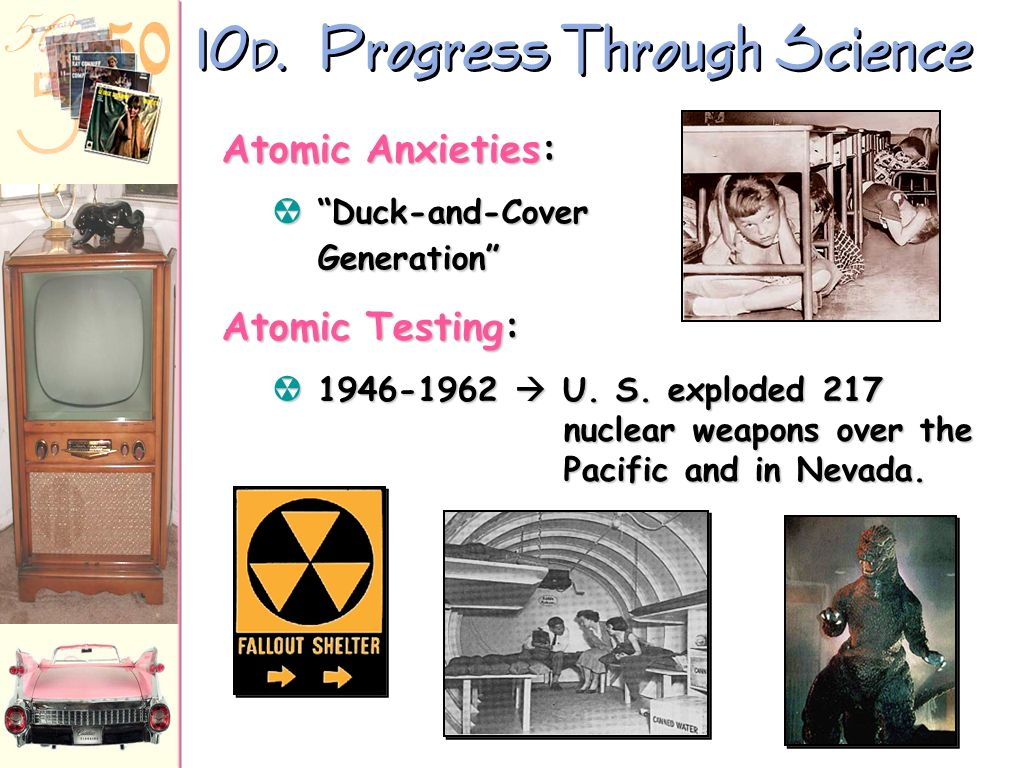 10D. Progress Through Science