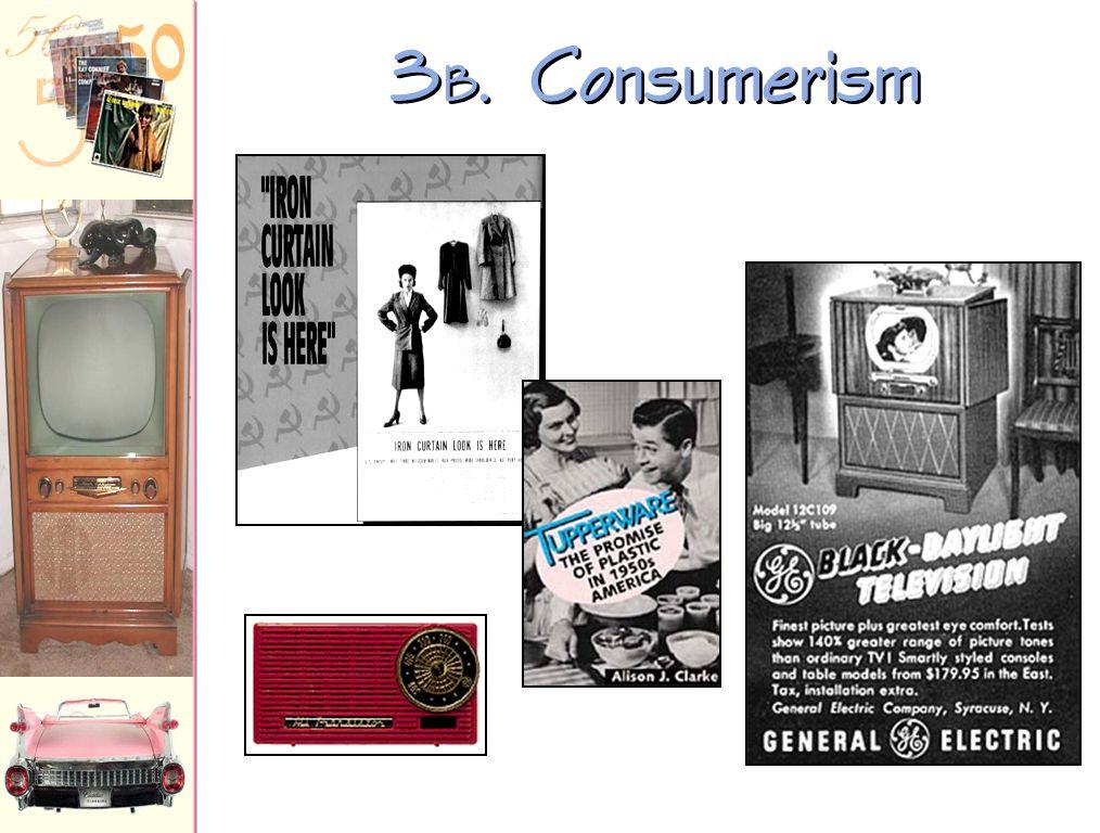 3B. Consumerism