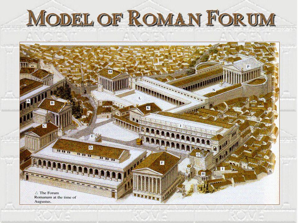 Model of Roman Forum