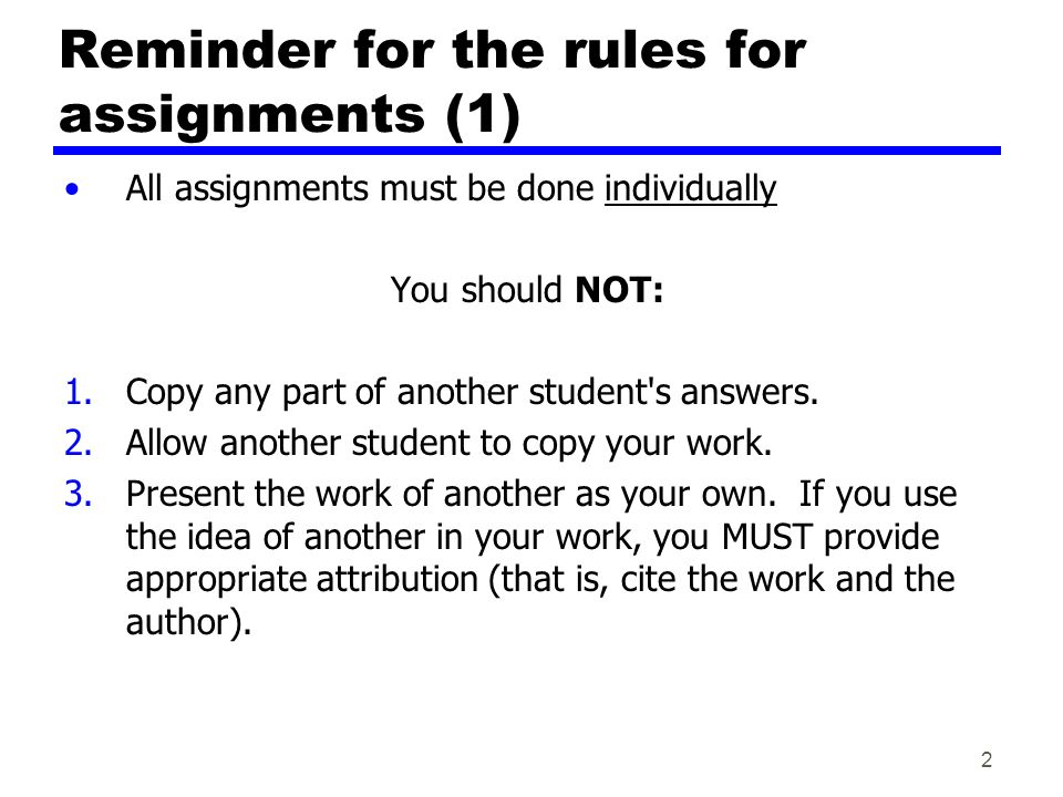 data communications computer networks ppt video online  reminder for the rules for assignments 1