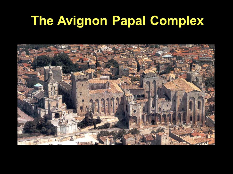 The Avignon Papal Complex