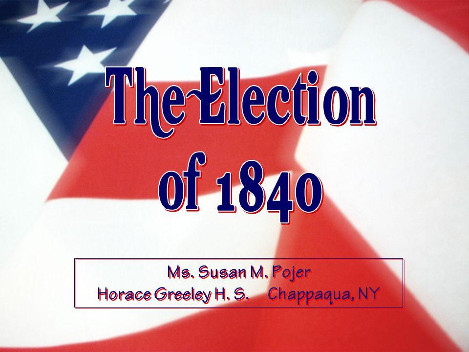 Ms. Susan M. Pojer Horace Greeley H. S. Chappaqua, NY