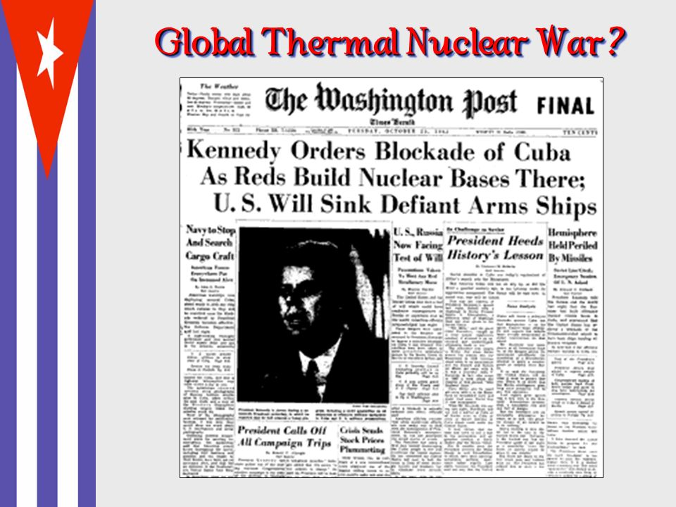 Global Thermal Nuclear War