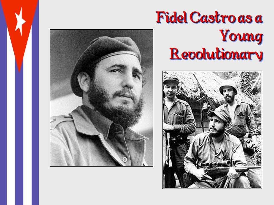 Fidel Castro as a Young Revolutionary