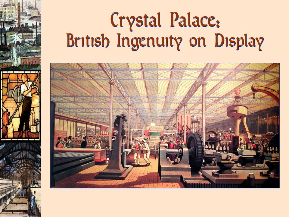 Crystal Palace: British Ingenuity on Display