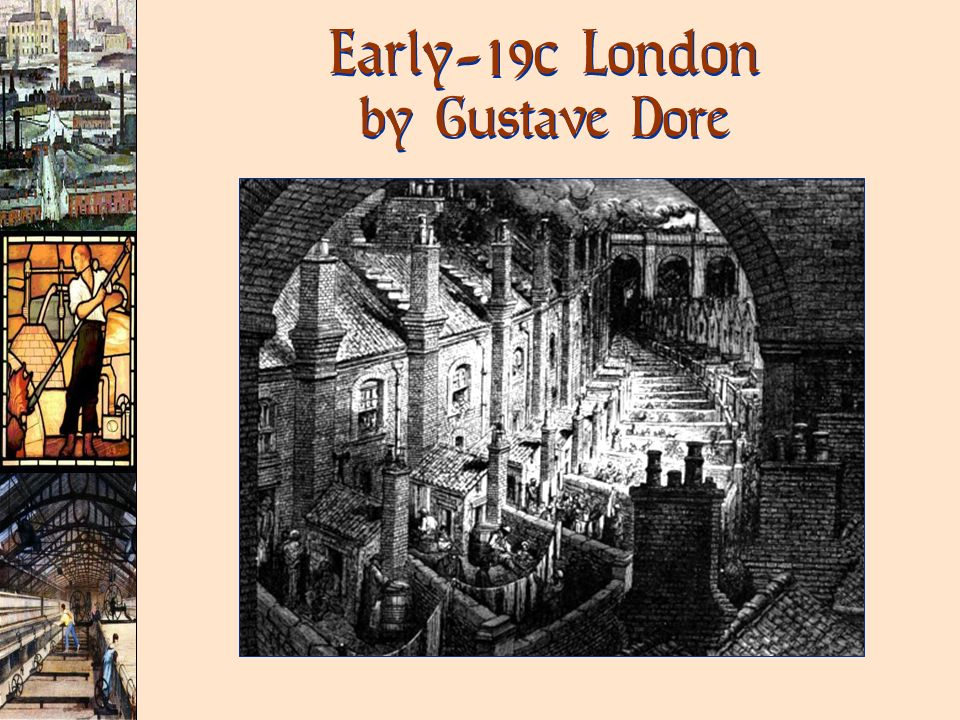 Early-19c London by Gustave Dore