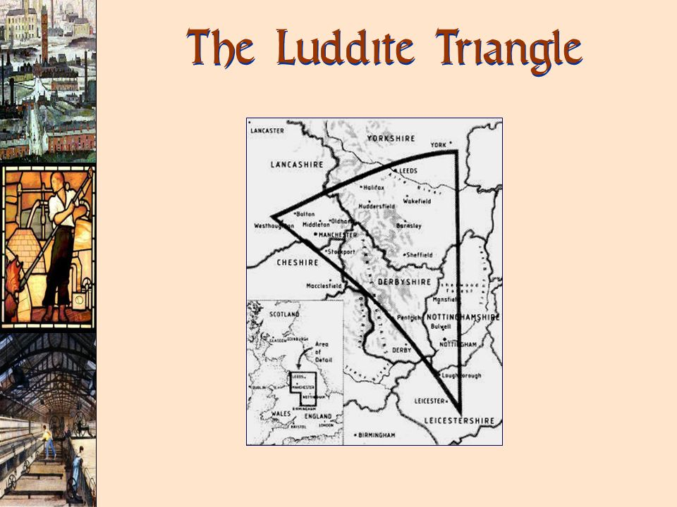 The Luddite Triangle