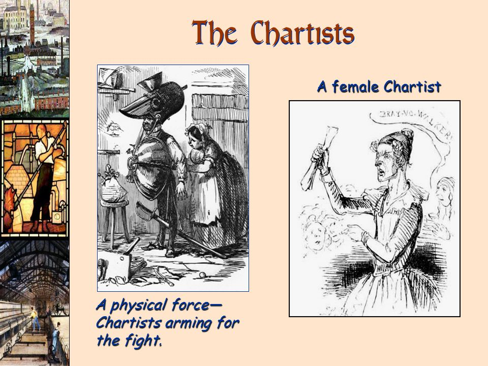 The Chartists A female Chartist