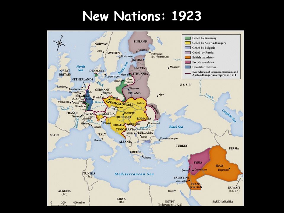 New Nations: 1923