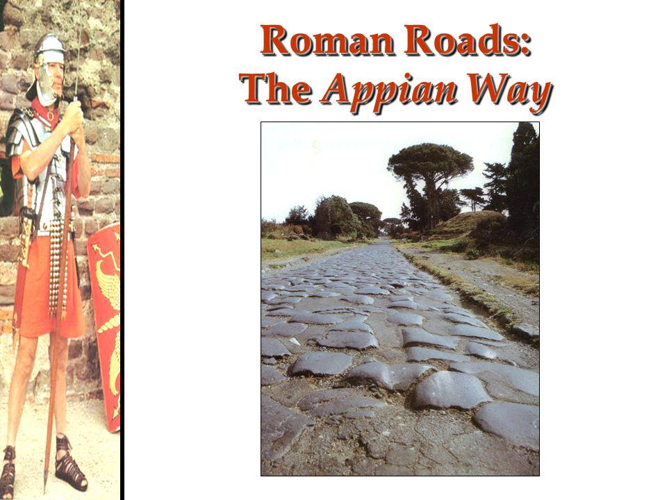 Roman Roads: The Appian Way