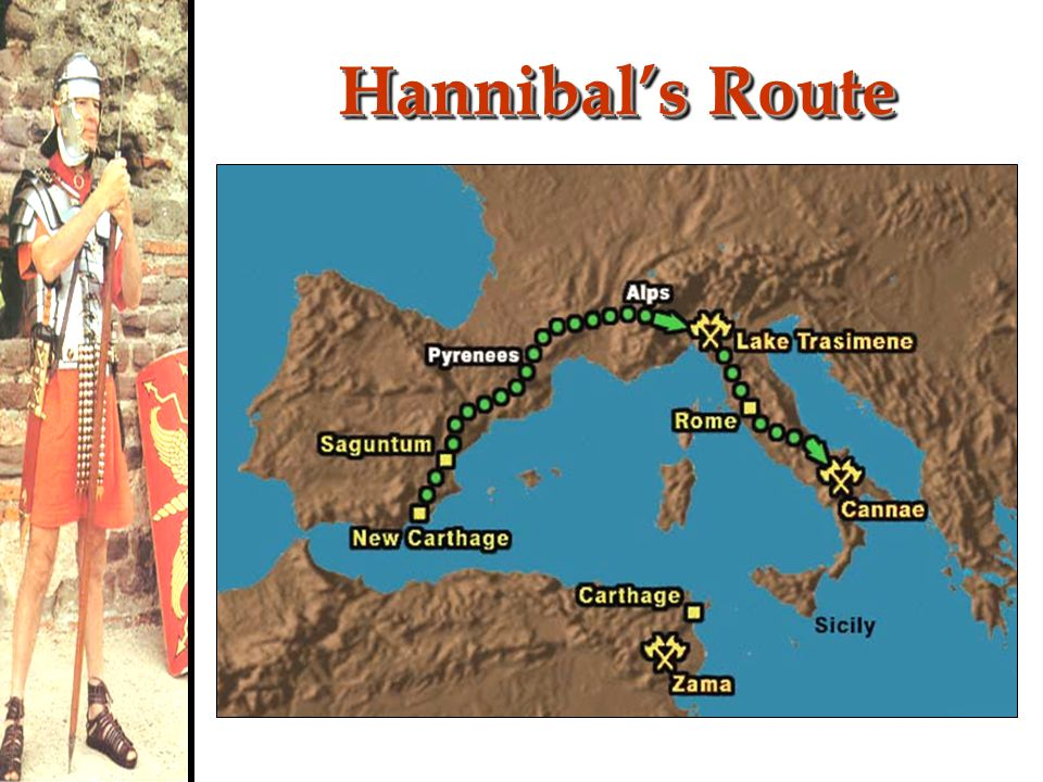 Hannibal's Route