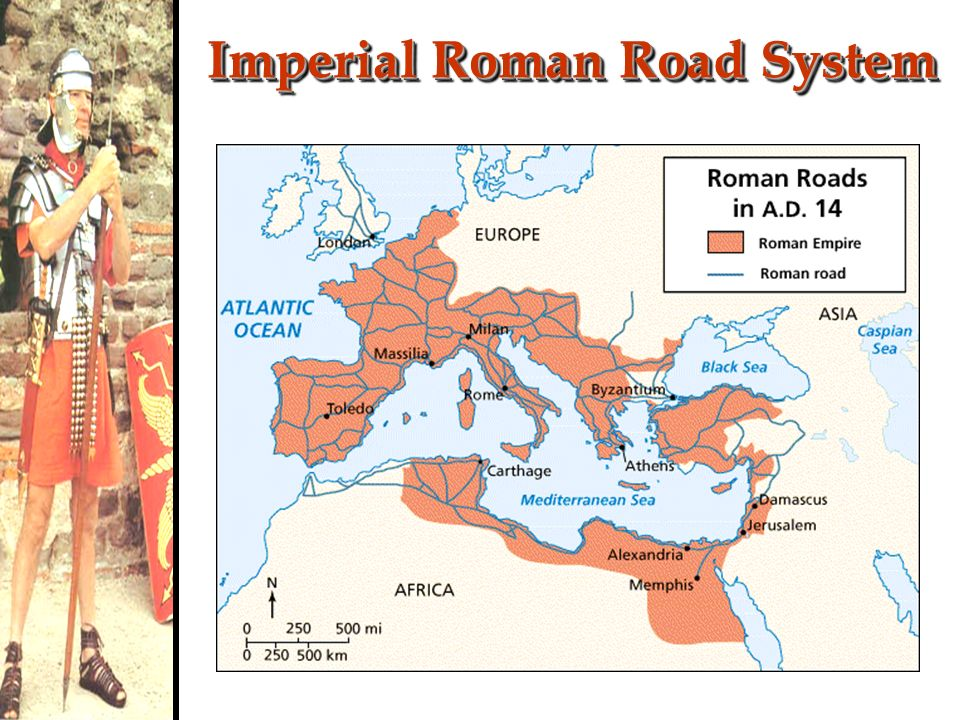 Imperial Roman Road System