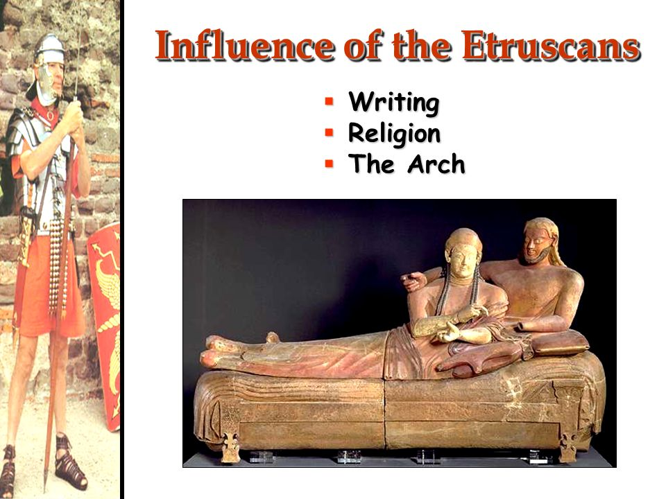 Influence of the Etruscans