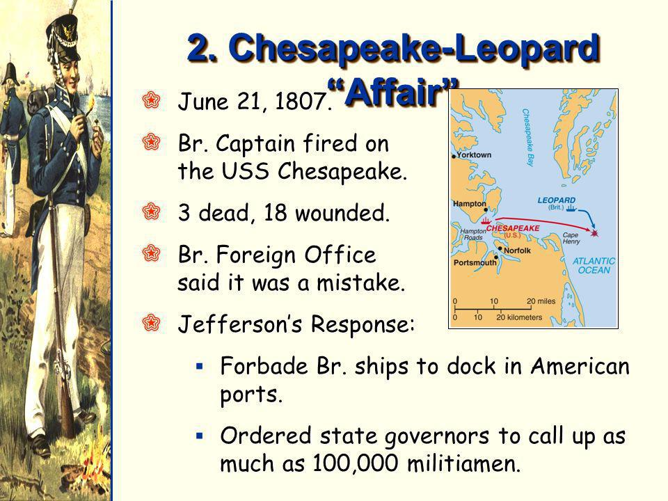 2. Chesapeake-Leopard Affair