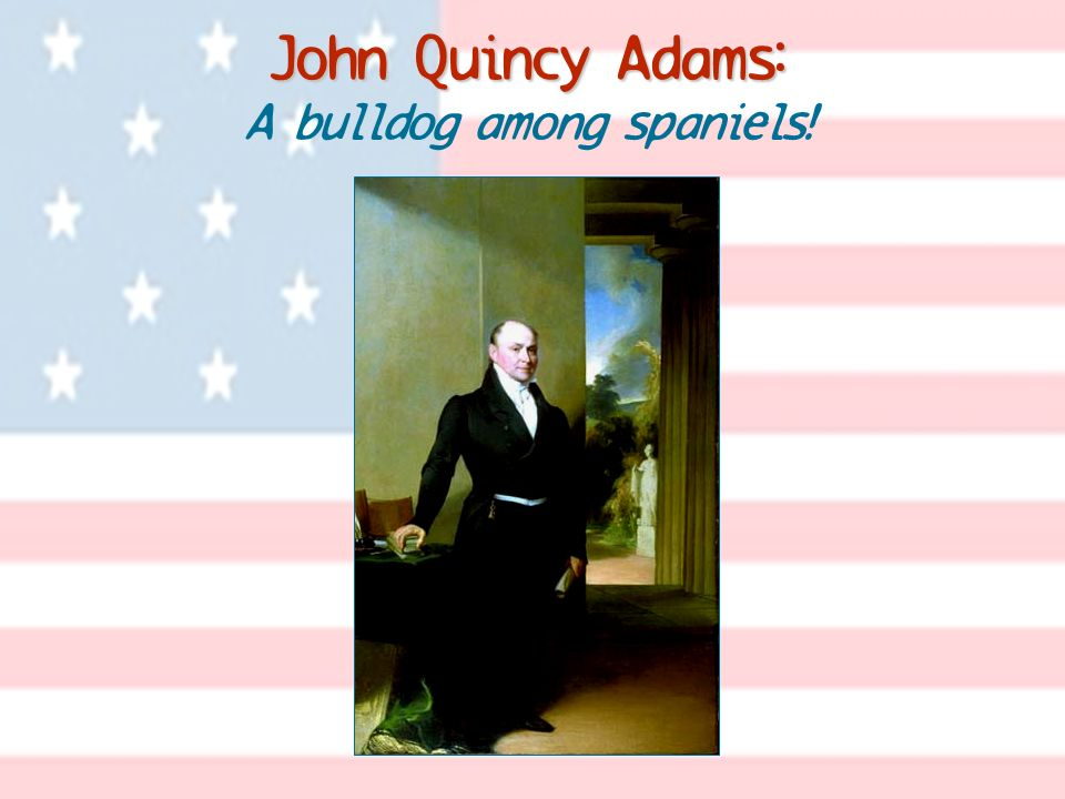 John Quincy Adams: A bulldog among spaniels!