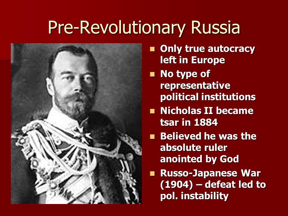Pre-Revolutionary Russia