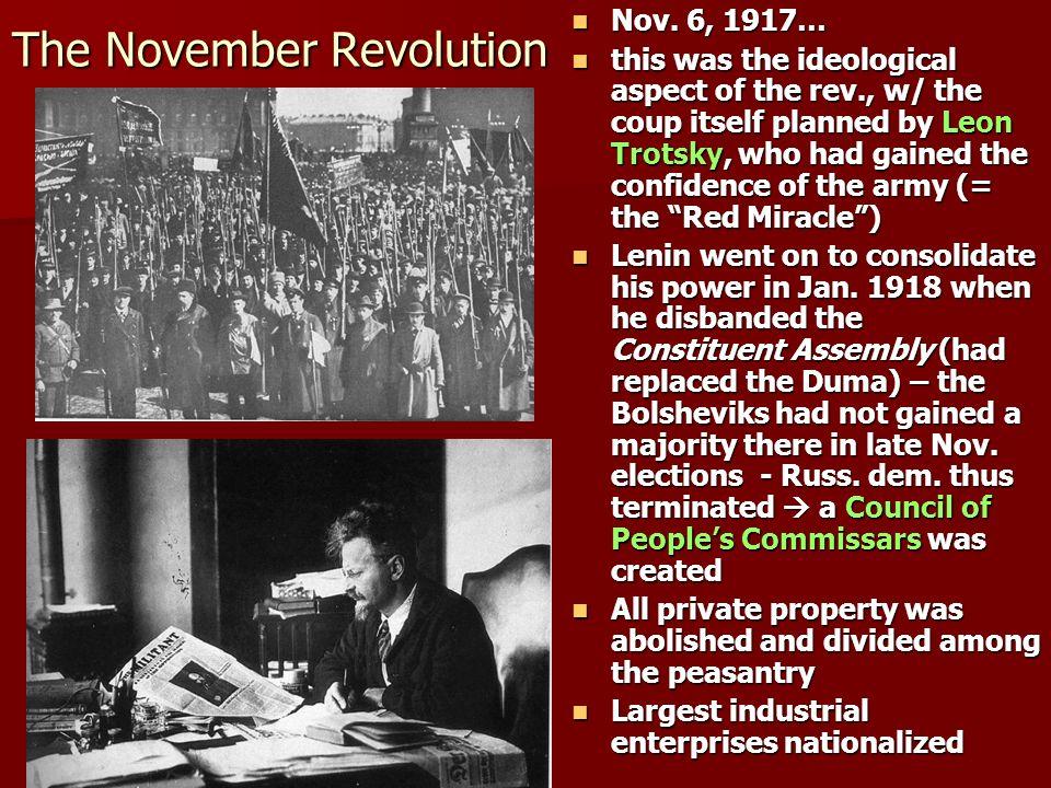 The November Revolution