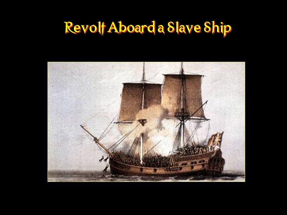Revolt Aboard a Slave Ship