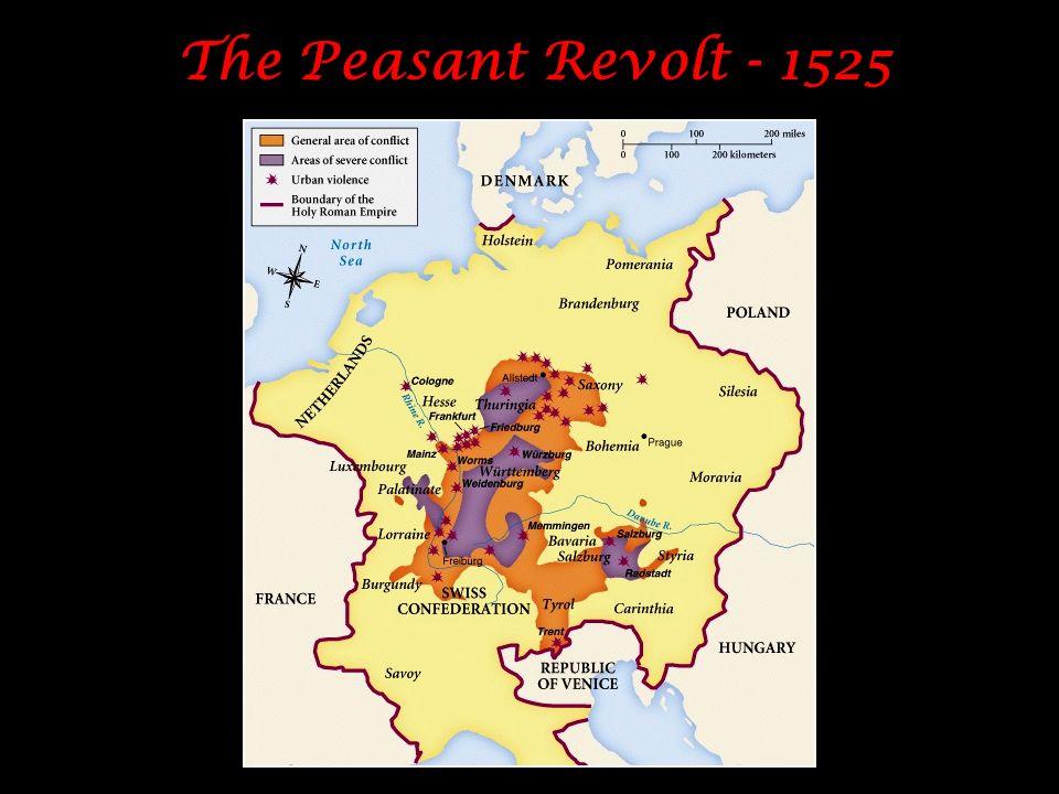 The Peasant Revolt - 1525