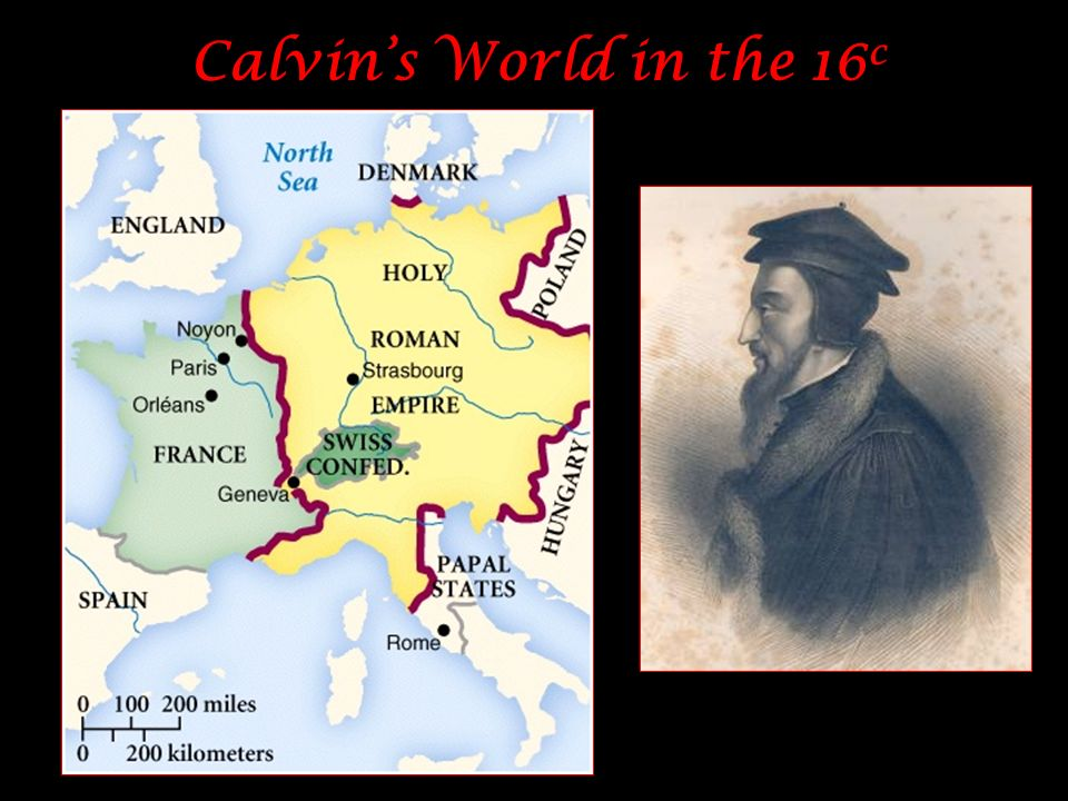 Calvin's World in the 16c