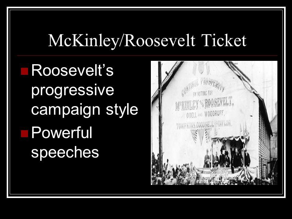 McKinley/Roosevelt Ticket