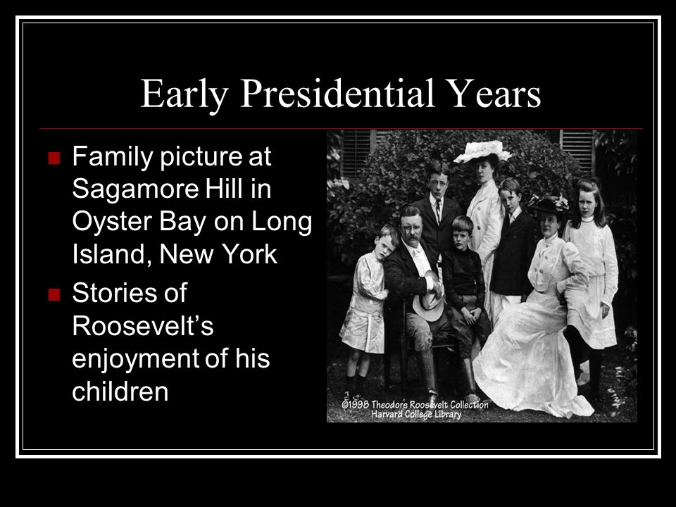 Early Presidential Years