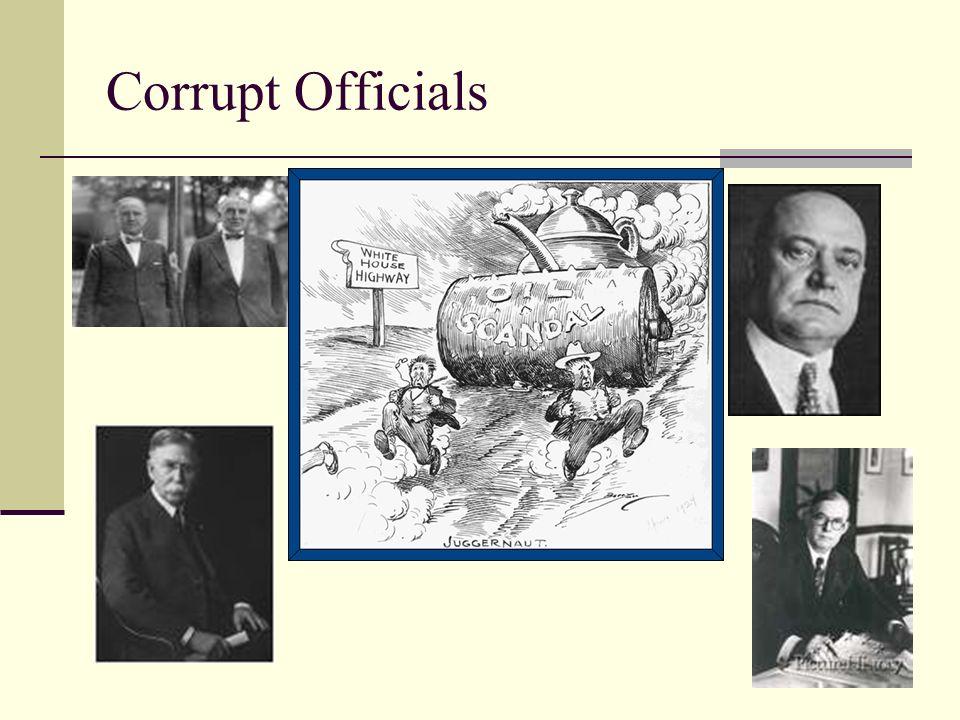 Corrupt Officials