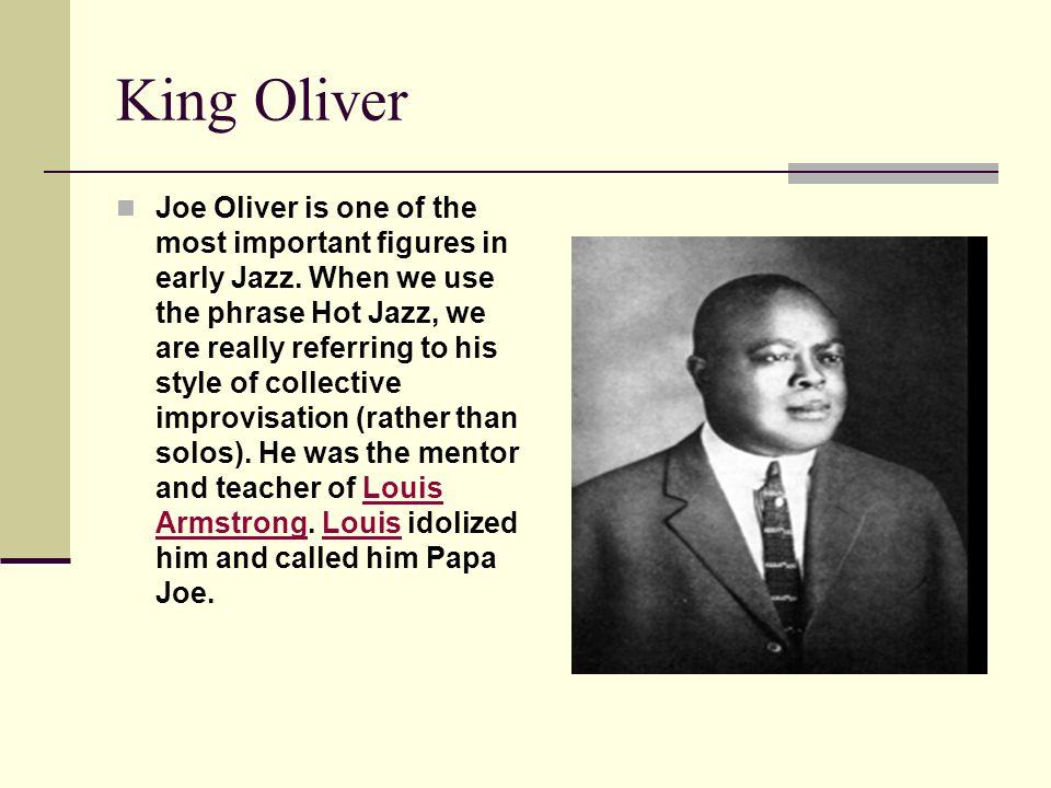 King Oliver