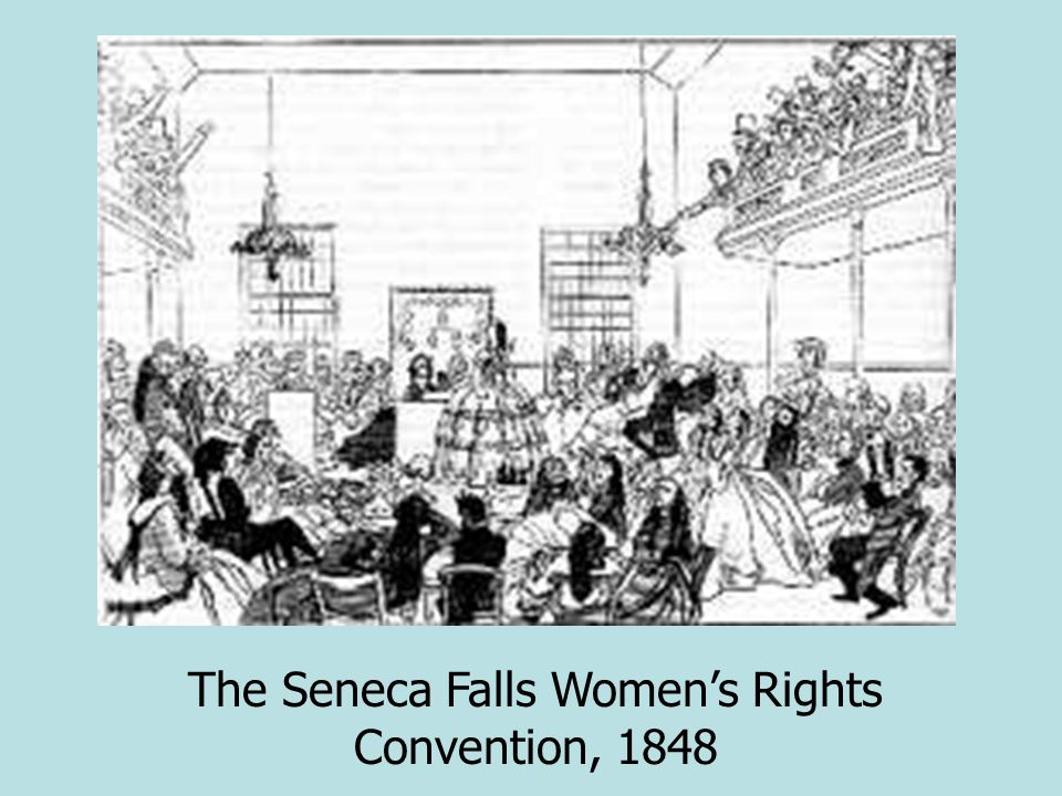 The Seneca Falls Women's Rights Convention, 1848