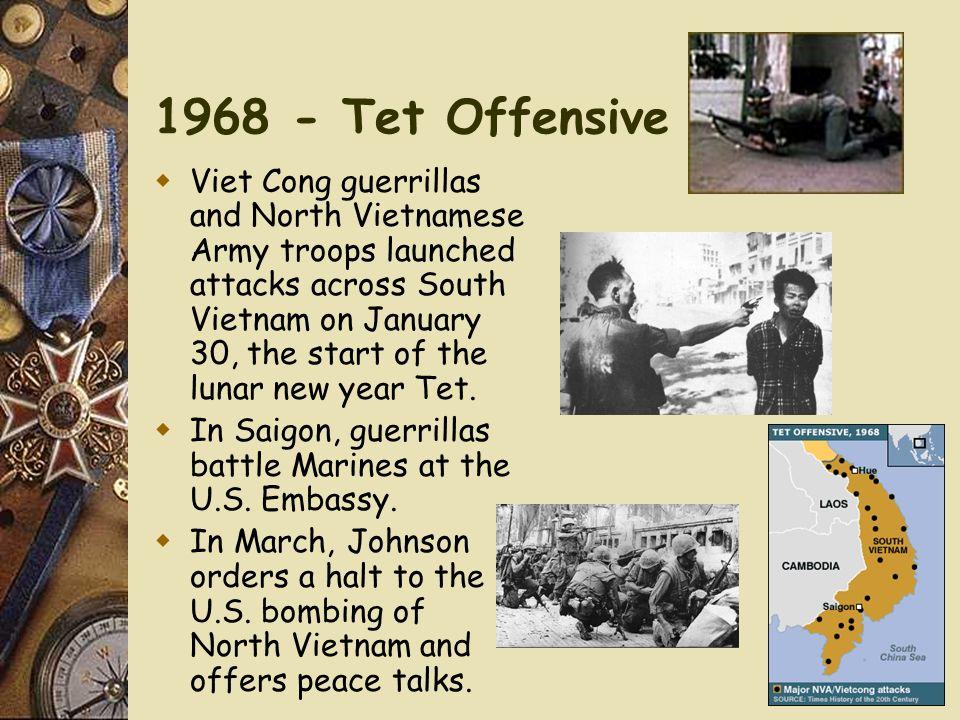 1968 - Tet Offensive