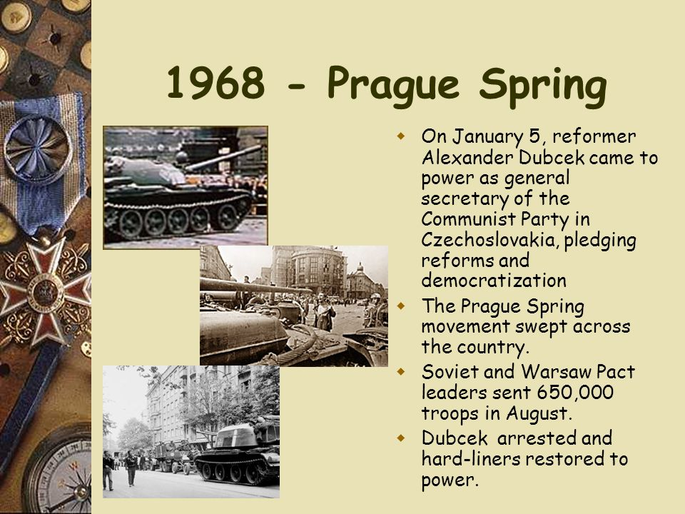 1968 - Prague Spring