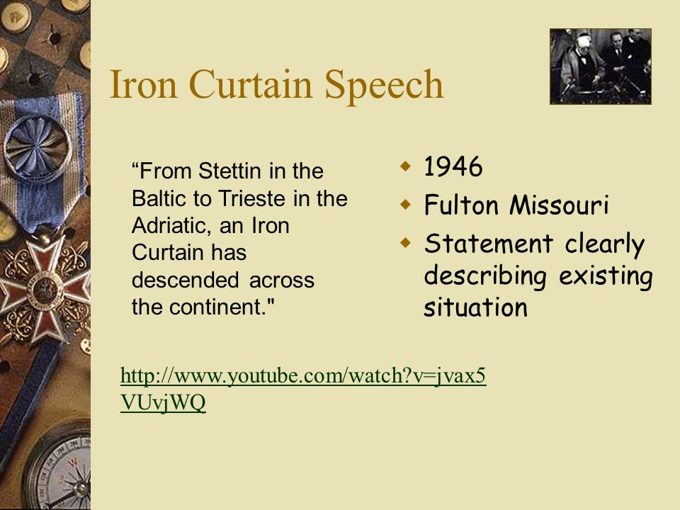 Definition of iron curtain