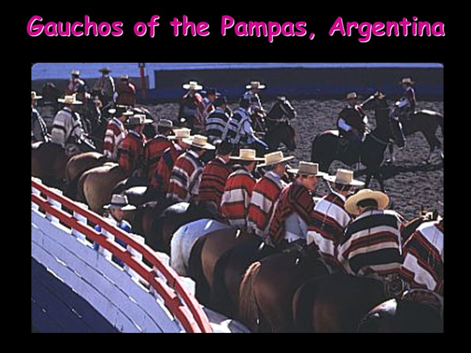 Gauchos of the Pampas, Argentina