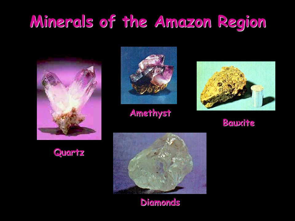 Minerals of the Amazon Region