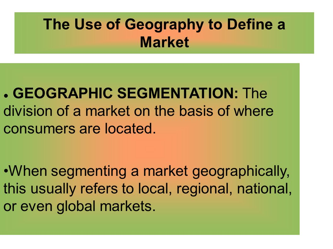 marketing geography Define demographic: the statistical characteristics of human populations (such as age or income) used especially to demographic in a sentence.