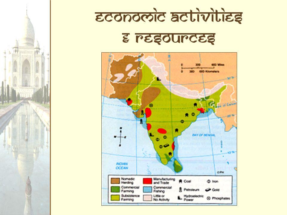 Economic Activities & Resources