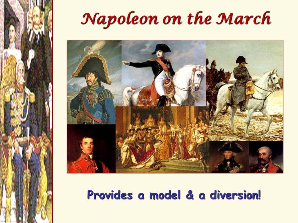 Provides a model & a diversion!