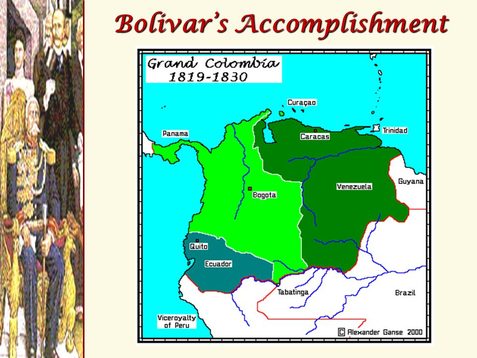 Bolivar's Accomplishment
