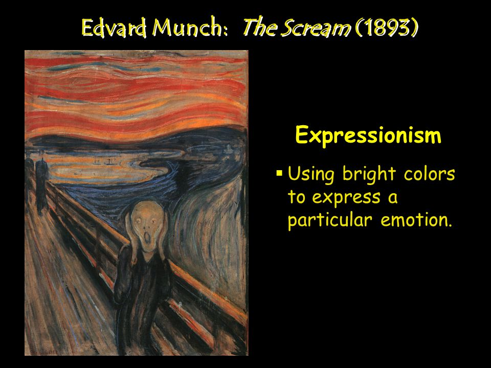 Edvard Munch: The Scream (1893)