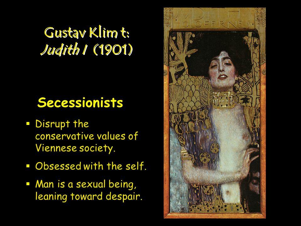 Gustav Klim t: Judith I (1901)