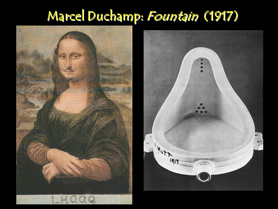 Marcel Duchamp: Fountain (1917)