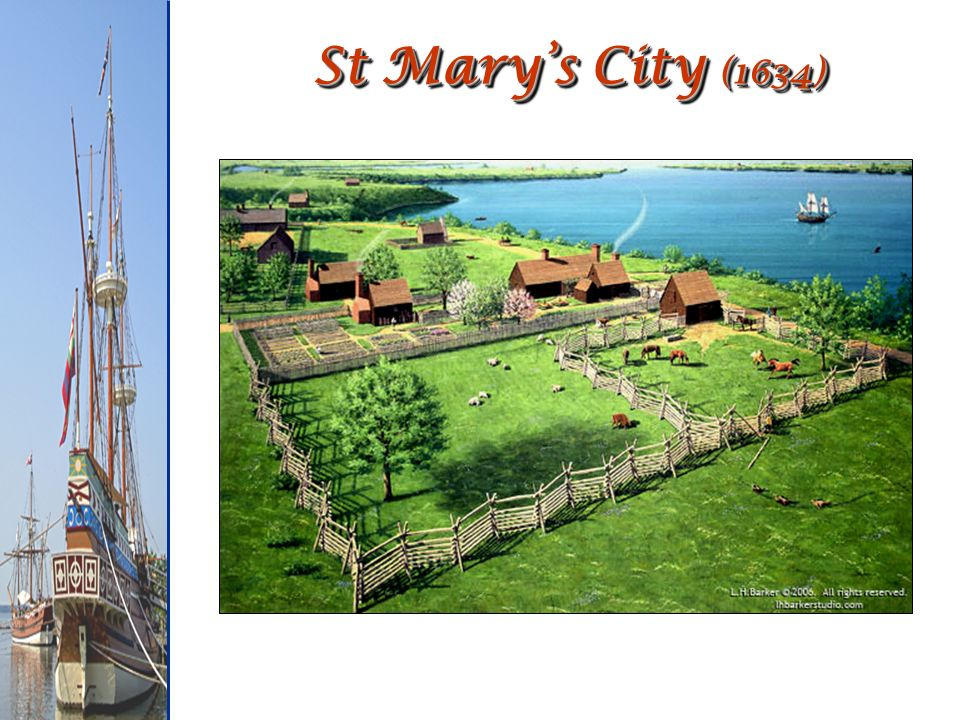 St Mary's City (1634)