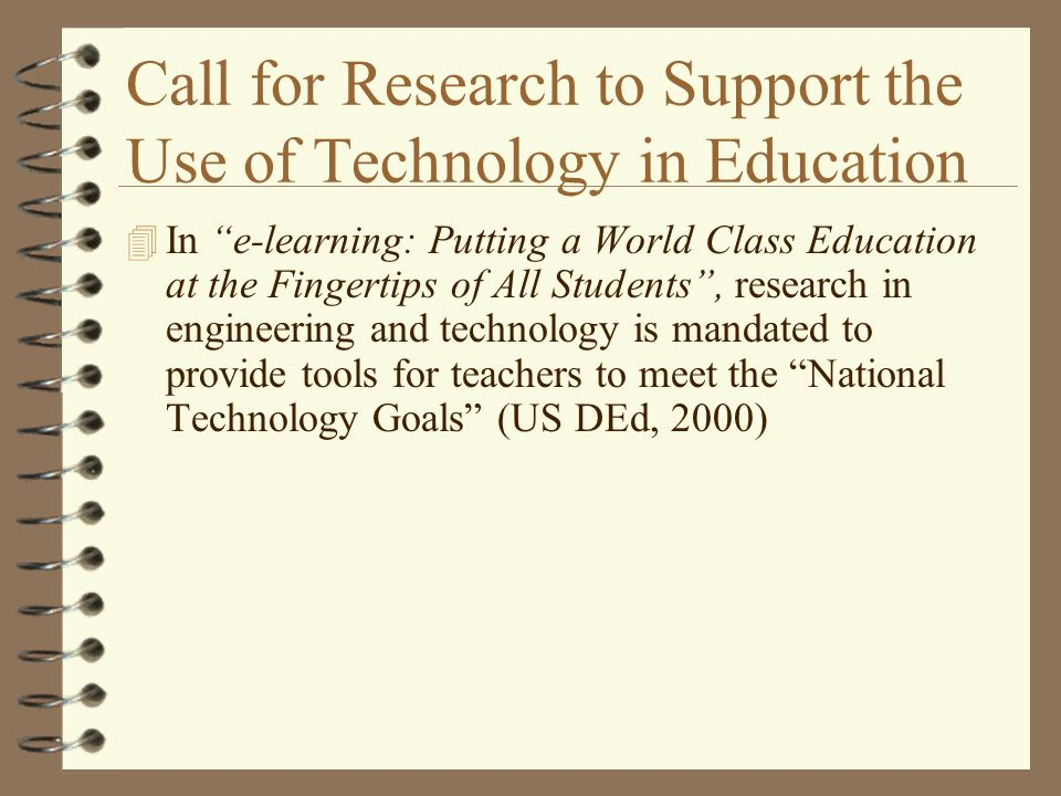 Research Paper On Technology In Education