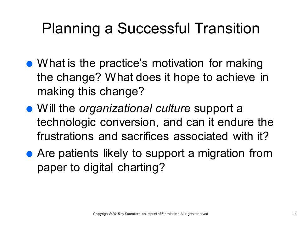 Organizational culture change essay