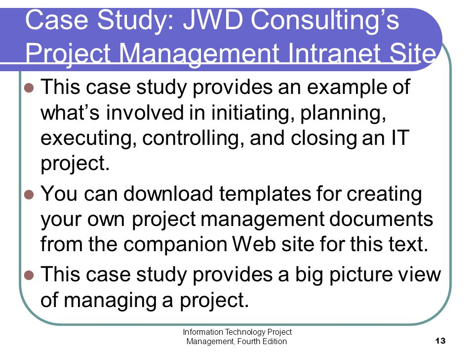 jwd consulting case study Management, a case study was provided de-  is the ceo of jwd consulting  and the person  in this case, erica bell will take on the chal.