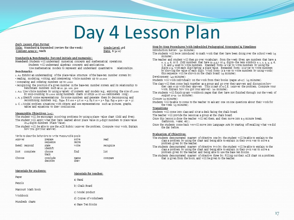 learning plan 3rd week This is our project-based learning lesson plan for 2nd grade this site covers a one week lesson plan it also contains a rubric and a calendar.