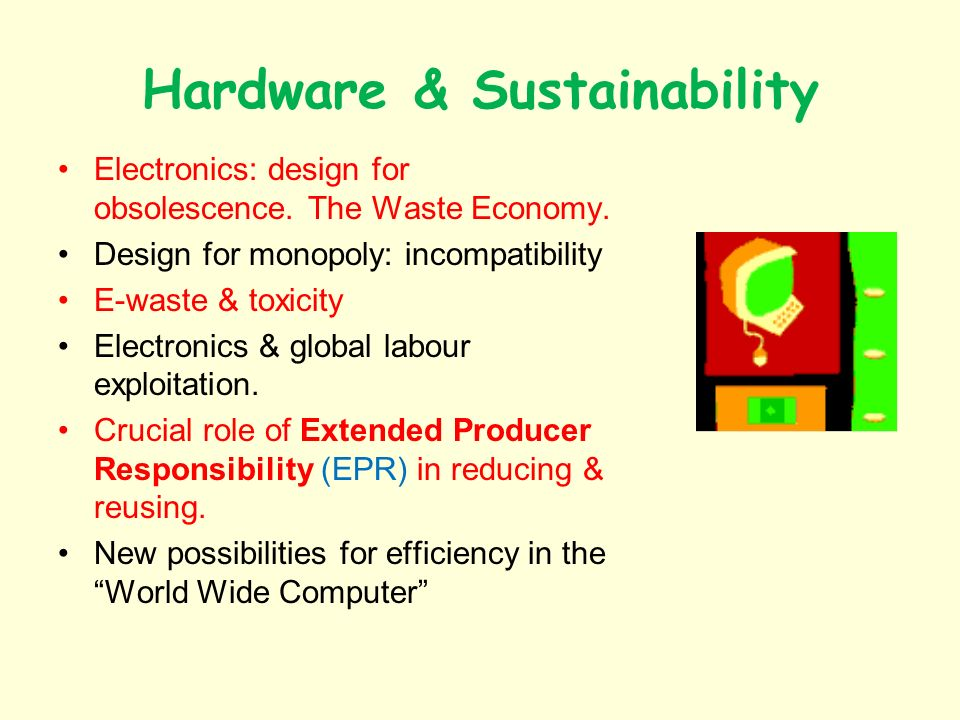 Hardware & Sustainability