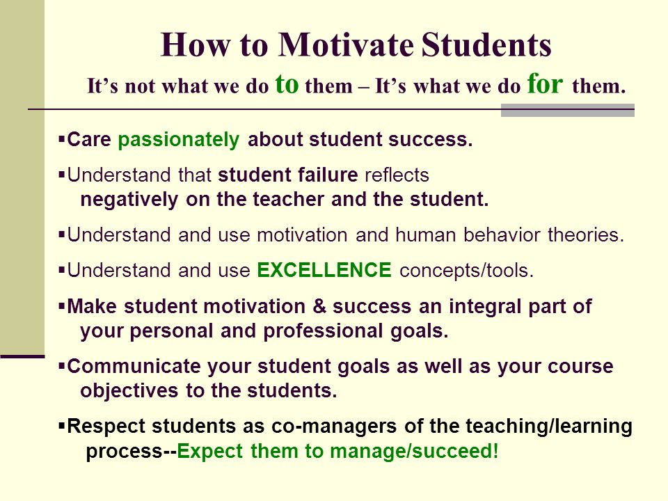 The Role of Grades in Motivating Students to Learn ...