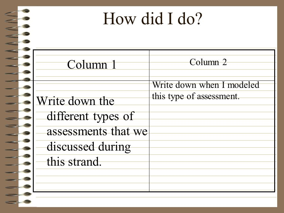 Assessment A Dr. Production Ppt Video Online Download