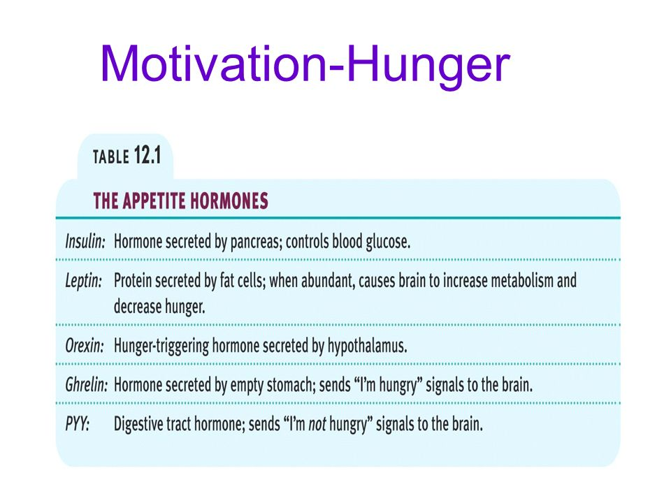 hunger motivation Other articles where local theory of hunger is discussed: motivation: hunger: these two, known as the local theory of hunger, suggested that the hunger.